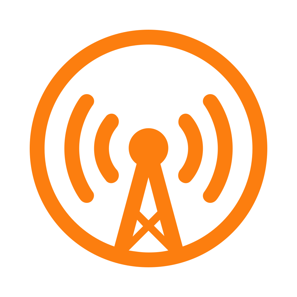 Overcast Podcasts Logo